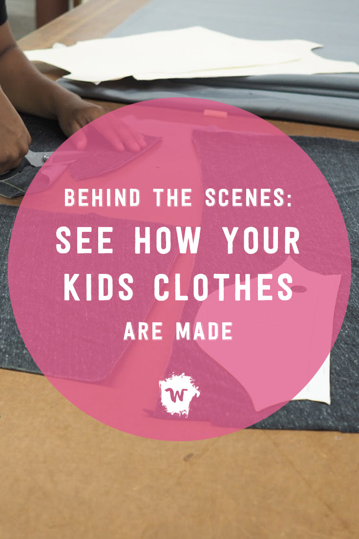 "It's Fashion Revolution Week and we encourage you to ask the question, ""who made my clothes?"" So, just who exactly makes Wildly Co. kids clothes?"