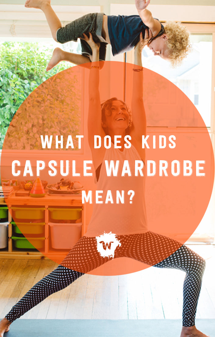 What does it mean for your kids to have a condensed, intentional kids capsule wardrobe? Here is what we hope it means for the busy mom: