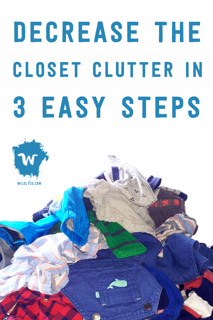 We can rid you of all the closet boogey monsters with these helpful hints to create room, clear clutter, and decrease stress.