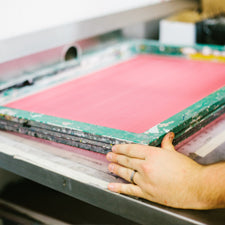 Wildly Co. screen printing