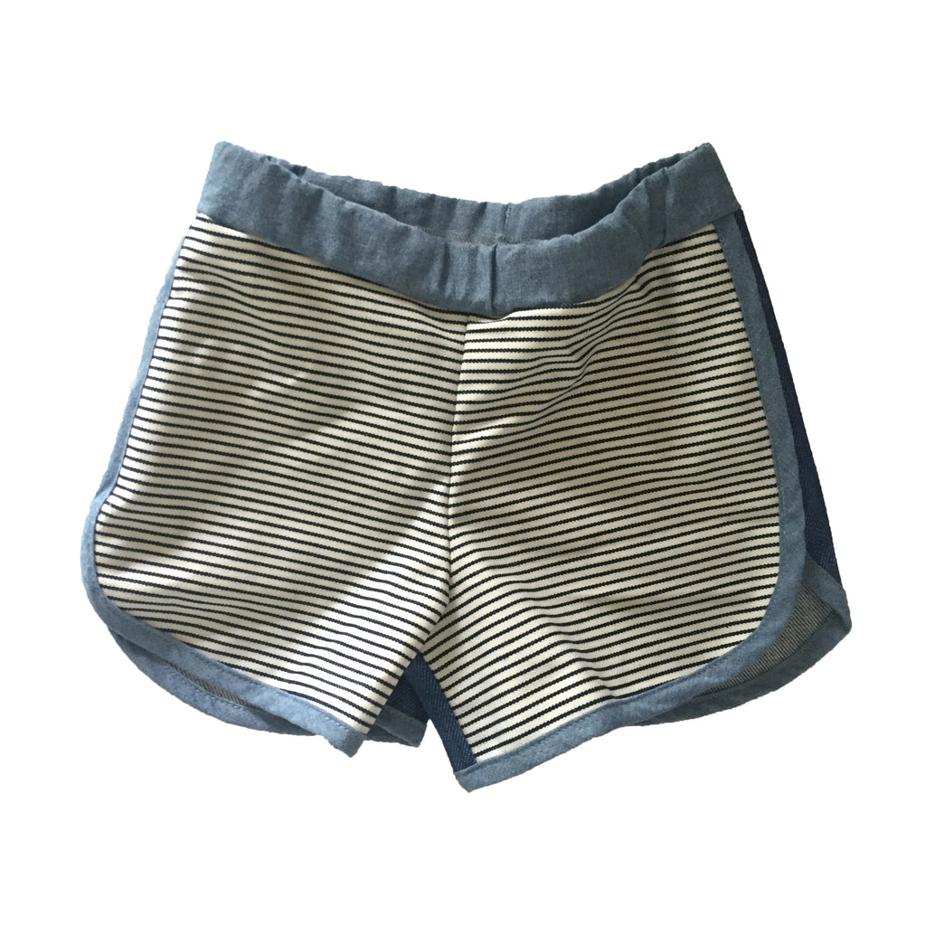 Stripe Girls Shorts
