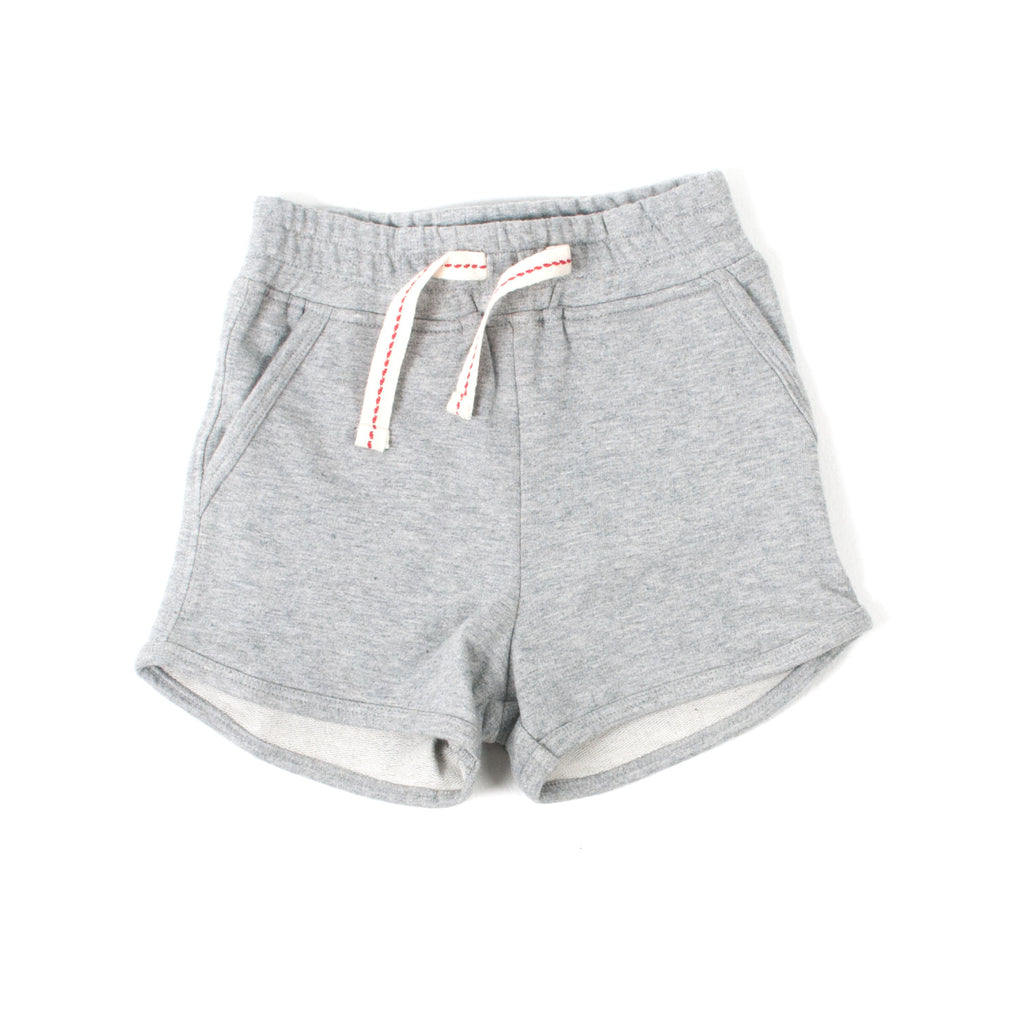 Girls Gray Sport Shorts