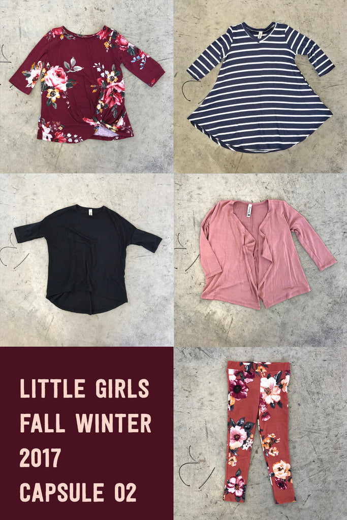 Little Girls Capsule Fall/Winter 2017-02