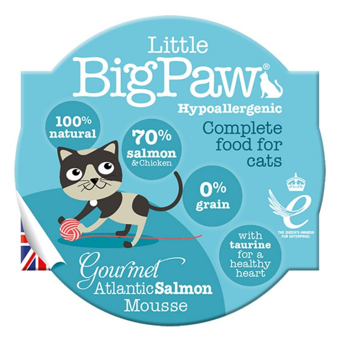 Little Big Paw - Cat Gourmet Salmon Mousse (85g)