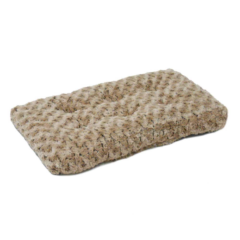 MidWest - QuietTime Deluxe Ombre Swirl Taupe to Mocha Pet Bed