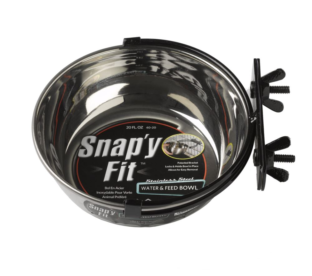 MidWest - Snap'y Fit Stainless Steel Bowl