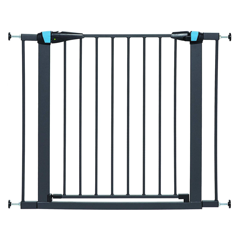 MidWest - Graphite Glow in the Dark Steel Pet Gate