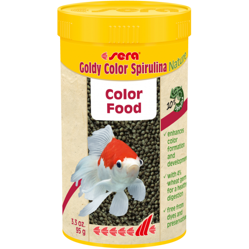 Sera - Goldy Color Spirulina Nature (95gm)