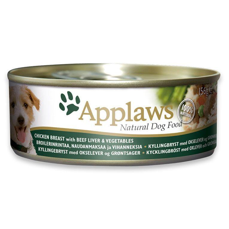 Applaws - Dog Chicken w/Beef (156g)