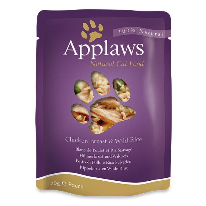 Applaws - Cat Chicken with Rice Pouch (70g)
