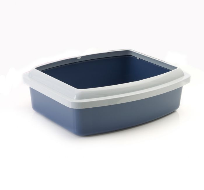Savic - Cat Litter Tray+Rim Oval (Jumbo)