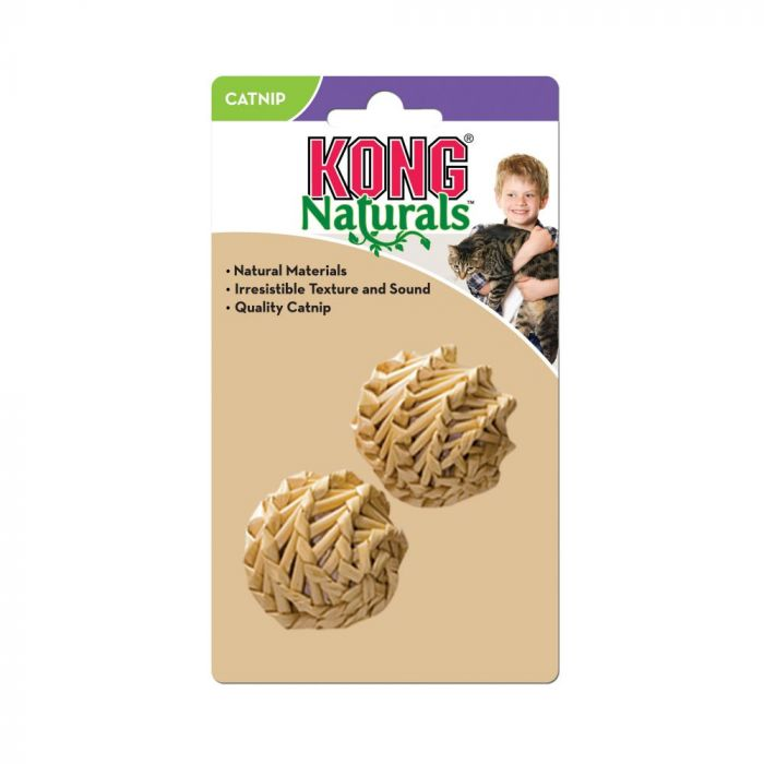 Kong - Cat Toy Straw Ball