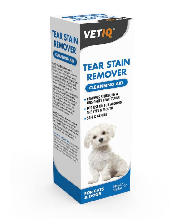 VetIQ - Tear Stain Remover for Cats & Dogs (100ml)