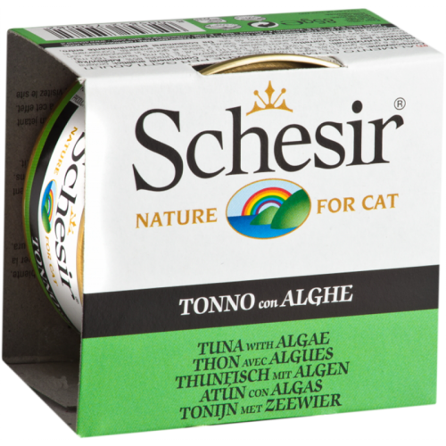 Schesir - Cat Can Jelly Tuna with Alga (85g)