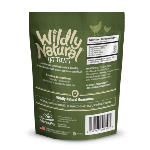 Fruitables - Wildly Natural Cat Treats – Chicken Flavor (71g)