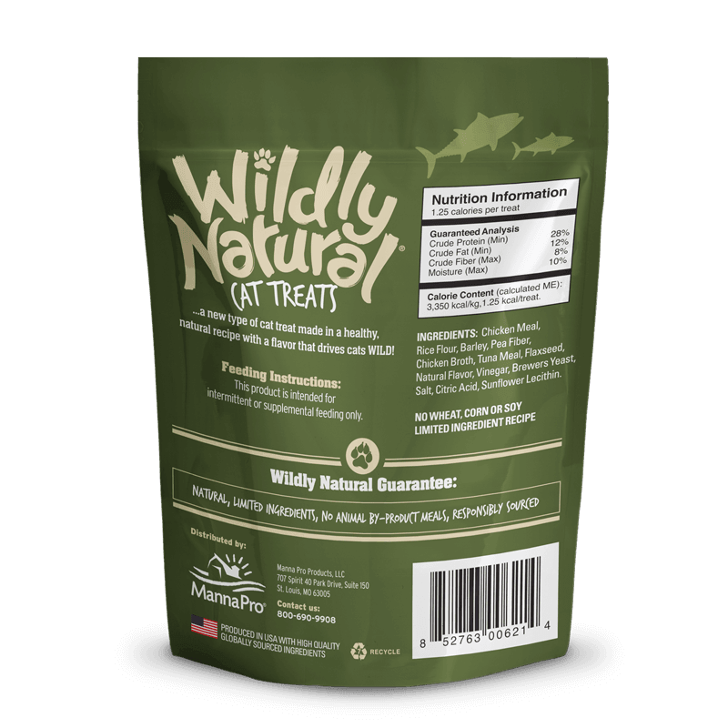 Fruitables - Wildly Natural Cat Treats – Tuna Flavor (71g)