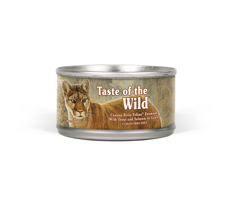 Taste of the Wild - Cat Wet Food Canyon River Feline in Gravy (85gr)