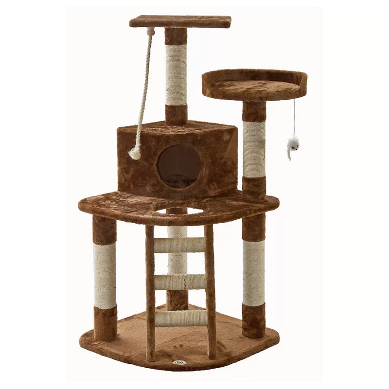 Go Pet Club - Cat Tree with Ladder & Rope
