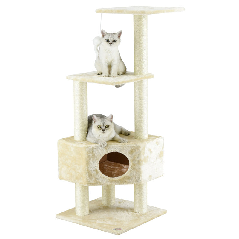 Go Pet Club - Cat Tree with Sisal Scratcher