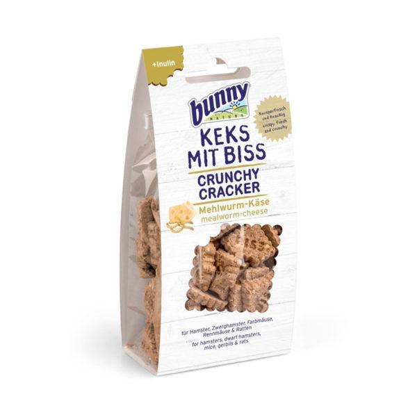Bunny Nature - Crunchy Cracker Mealworm Cheese (50gr)