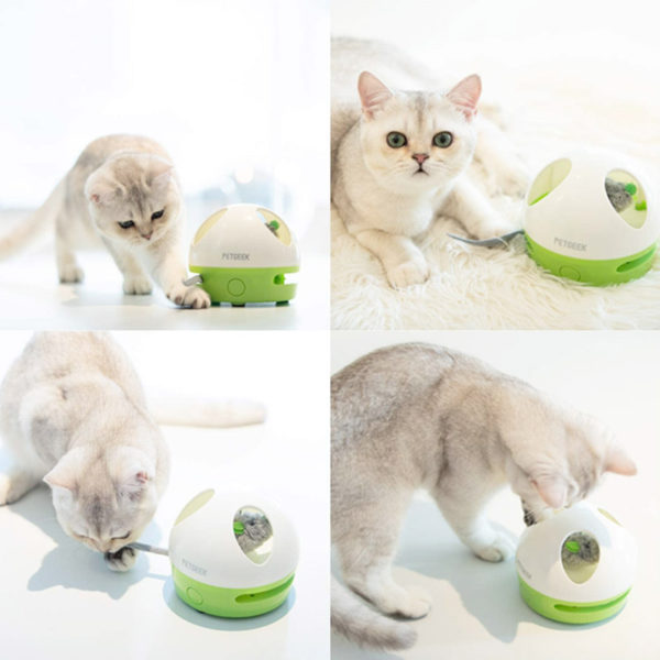 PetGeek - Interactive Hiding Mouse Cat Toy