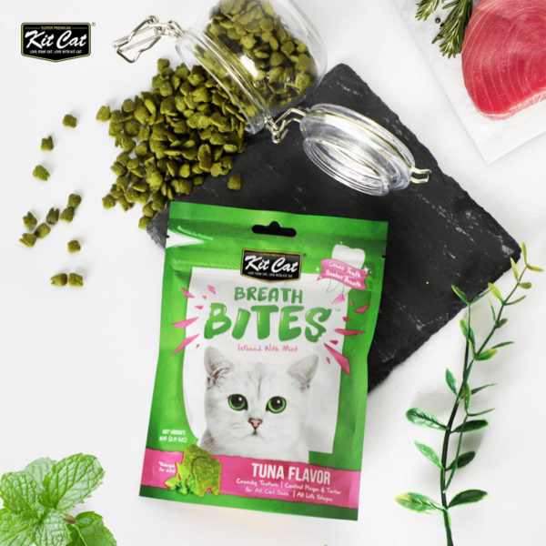 Kit Cat - Breath Bites Tuna Flavor (60g)