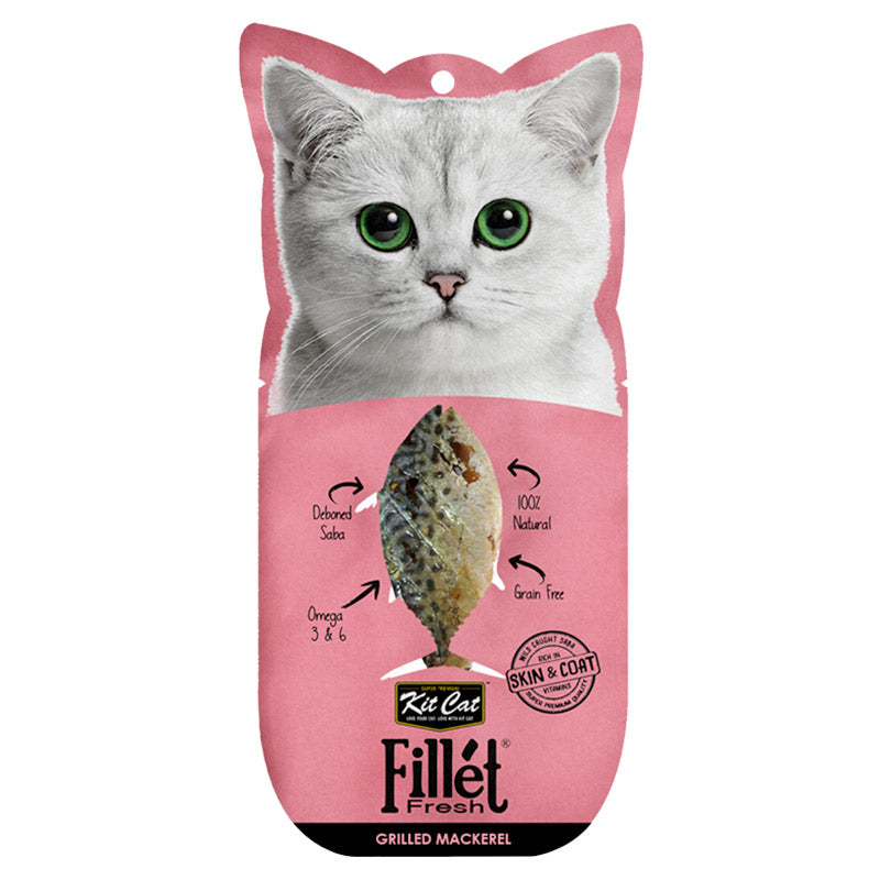 Kit Cat - Fillet Fresh Grilled Mackerel