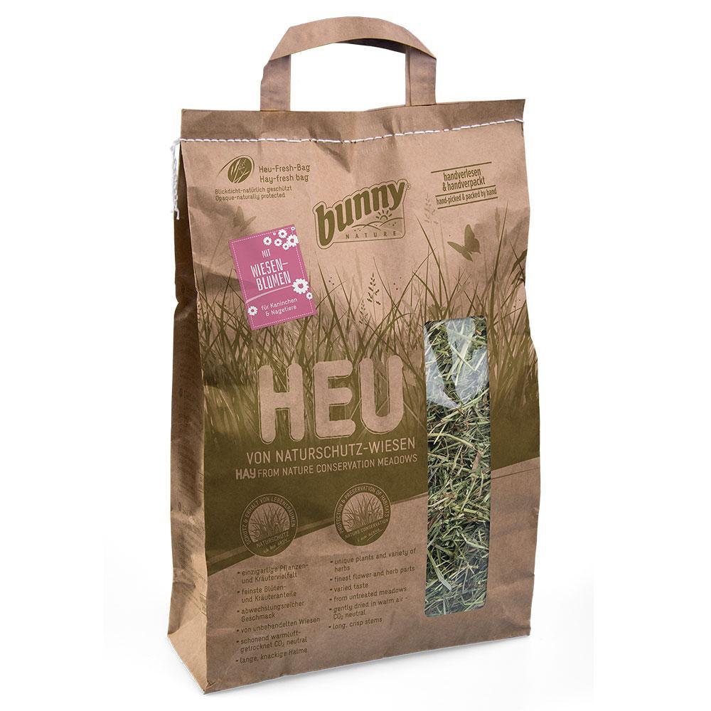 Bunny Nature - Hay From Nature Conservation Meadows With Meadow Flowers (250gr)