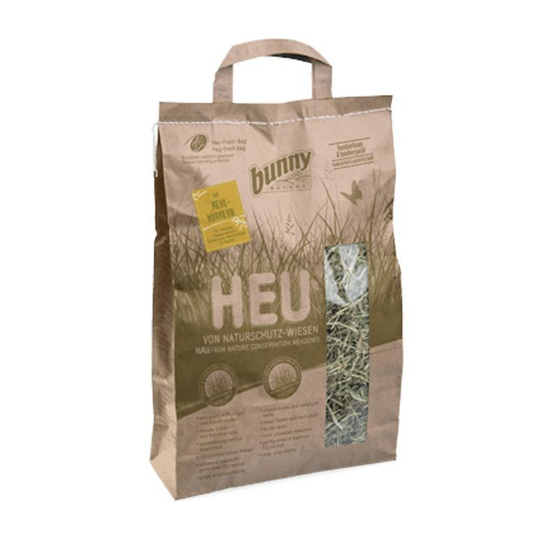 Bunny Nature - Hay from Nature Conservation Meadows With Mealworms (250gr)