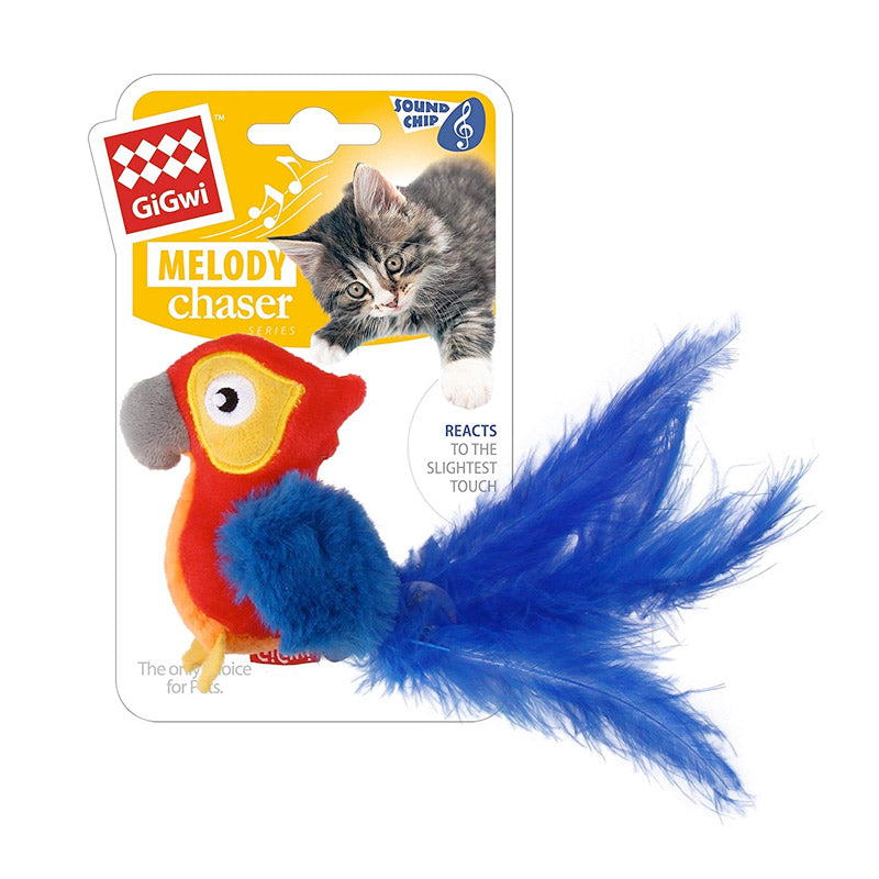 GiGwi - Cat Toy Melody Chaser with Motion Activated Sound Chip