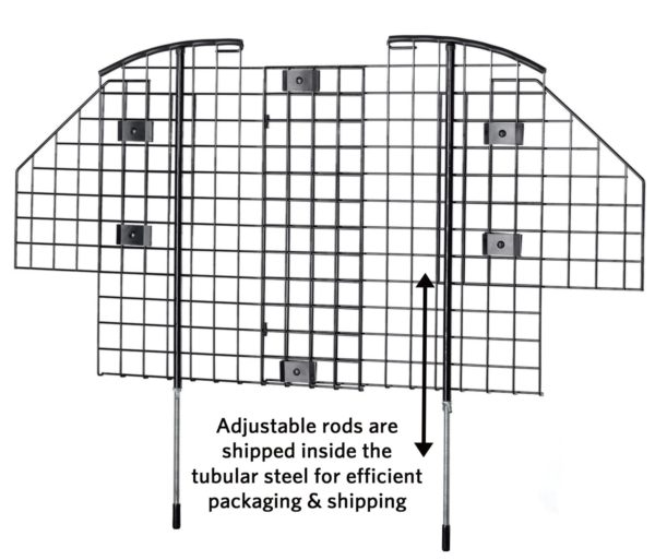 MidWest - Wire Mesh Vehicle Pet Barrier
