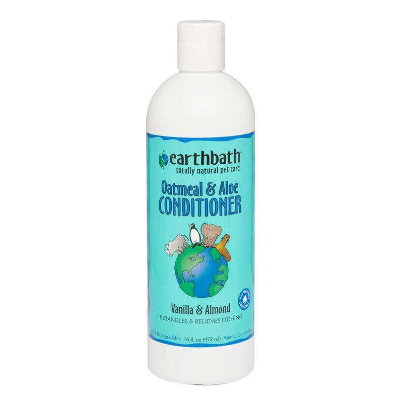 earthbath - Oatmeal & Aloe Conditioner Vanilla Almond (16oz)