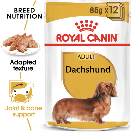 Royal Canin - Breed Health Nutrition Dachshund Adult (85g)