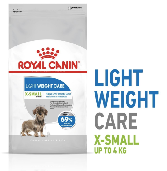 Royal Canin - Canine Care Nutrition XS Adult Light (1.5kg)