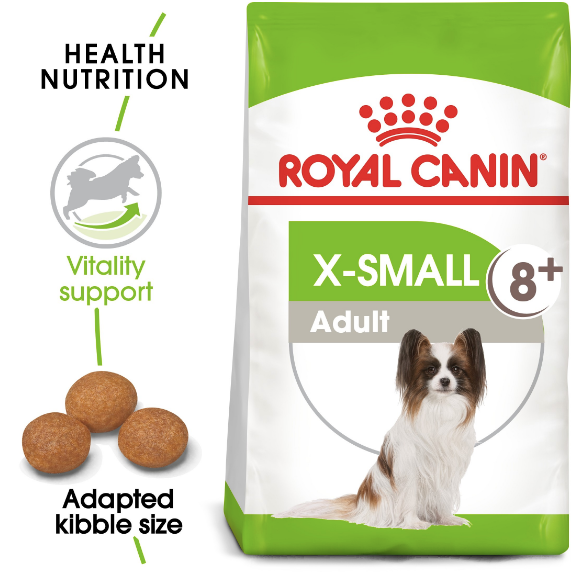 Royal Canin - Size Health Nutrition XS Adult 8+(1.5kg)