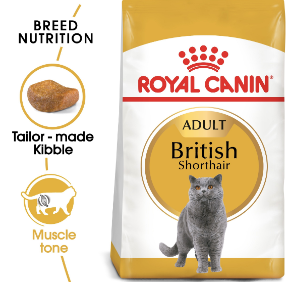 Royal Canin - Feline Breed British Shorthair Adult (4kg)