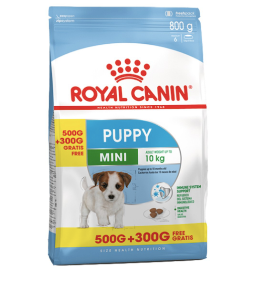 Royal Canin - Size Nutrition Mini Puppy (500g+300g)