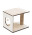 Vesper - Premium Cat Furniture V-Stool White