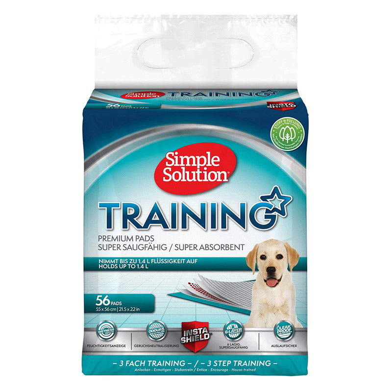 Simple Solution - Dog and Puppy Training Pads (56 Pads)