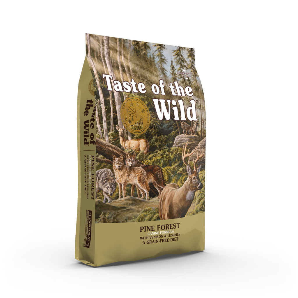 Taste of the Wild - Dog Dry Food Pine Forest Canine Recipe