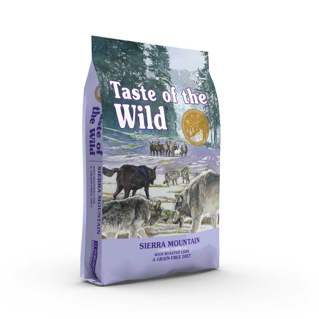 Taste of the Wild - Dog Dry Food Sierra Mountain Canine Recipe