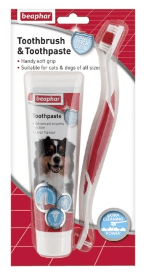 Beaphar - Toothbrush and Toothpaste Set