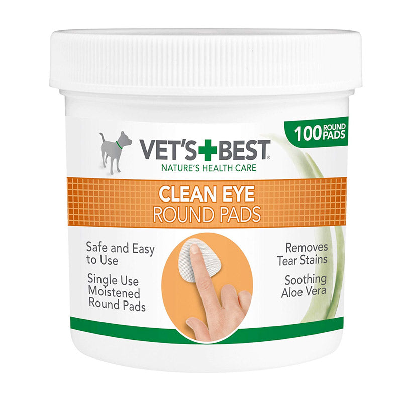 Vet's Best - Clean Eye Round Pads (100pads)