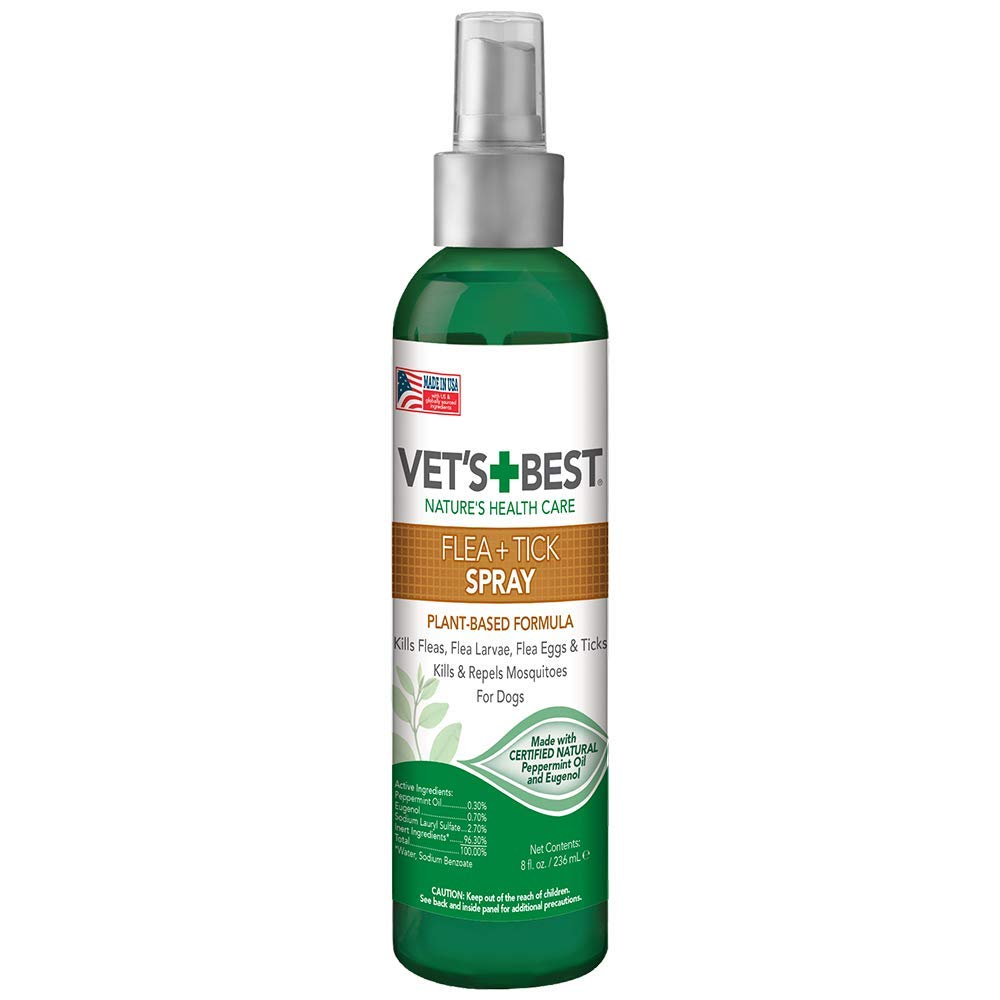 Vet's Best - Flea and Tick Home Treatment Spray (8 oz)