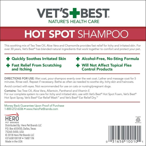 Vet's Best - Hot Spot Shampoo (16oz)