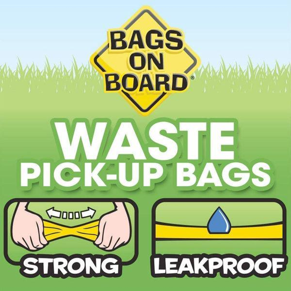 Bags on Board - Dog Waste Pick-Up Refill Bags (140 bags)