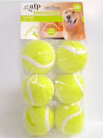 All For Paws - Fetch Balls (6 pcs)