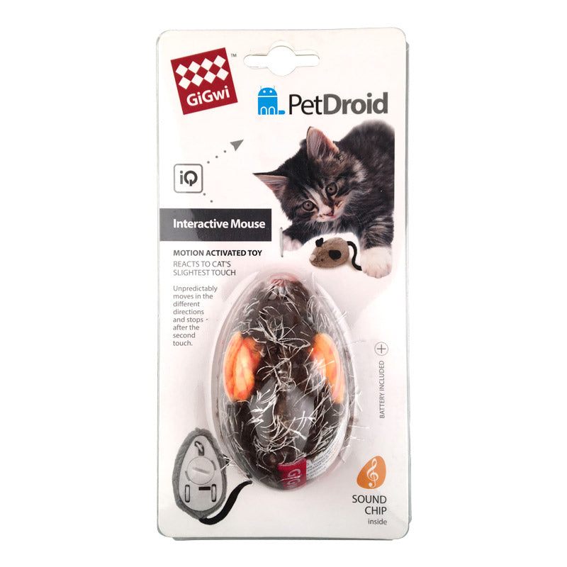 GiGwi - Interactive Mouse Pet Droid Cat Toy