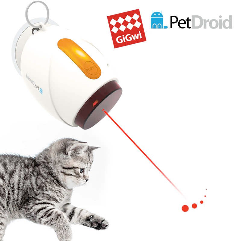 Interactive Cat Toy Pet Droid GiGwi