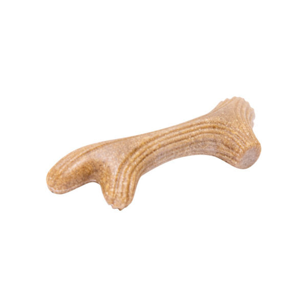 GiGwi - Dog Chew Wooden Antler with Natural Wood and Synthetic Material